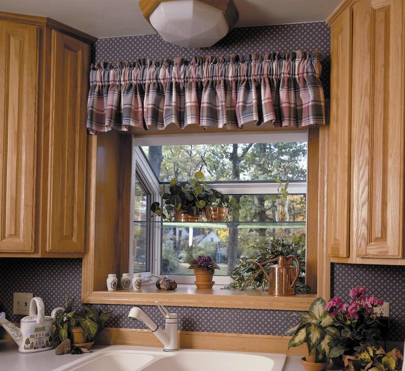 Garden windows interior